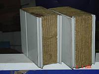 Сэндвич панели с минеральной ватой стеновые