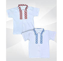 Рубашка с коротким рукавом ,вышиванка 00859_SoF