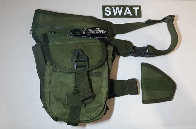 Сумка тактическая набедренная SWAT, фото 2