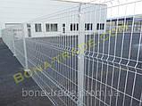 Панельные заборы из сетки в ПВХ, фото 4