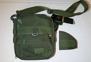 Тактическая сумка со съёмным наплечным ремнём (цвет койот), фото 2