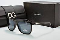 Солнцезащитные очки Dolce & Gabbana черные квадратные