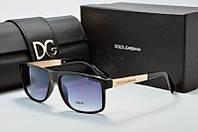 Солнцезащитные очки прямоугольные Dolce & Gabbana черные