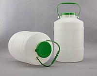 Бидон пластиковый 5 л с ручкой и крышкой Горизонт KN-023-1