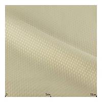 Ткань для пошива скатерти для ресторана Бежевая с орнаментом Турция (50% хлопок, 50% полиэстер)