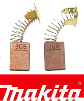 Щітки вугільні Makita СВ308 /2шт. обміднені (957802410) 5х10,5х15мм (Оригінал)
