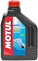 Масло для 4-х тактных лодочных двигателей Motul INBOARD TECH 4T 10W-40