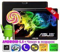 СУПЕР! Планшет-Телефон ASUS TAB 10 M160 10 дюймов IPS 8 ядер 16GB (Android 5.1) + Чехол + Игры