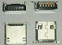 Разъем зарядки для China-phone №03 Universal, 10 pin