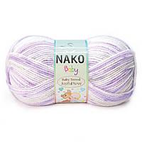 """Пряжа Nako Baby Tweed Joyful """"81038"""" Детская для Ручного Вязания"""
