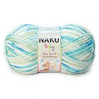 """Пряжа Nako Baby Tweed Joyful """"81047"""" Детская для Ручного Вязания"""