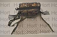 Сетка для дичи и рыбы 30 х 40 см, ячейки 2 х 2 см на ремне