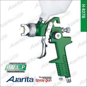 Пневматичний фарборозпилювач HVLP верхній бак 1,4 мм AUARITA H-827B-1.4, фото 2