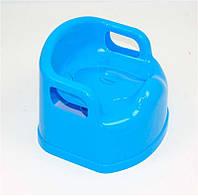 """Горшок детский SL с крышкой (10) - цвет голубой """"K-PLAST"""""""