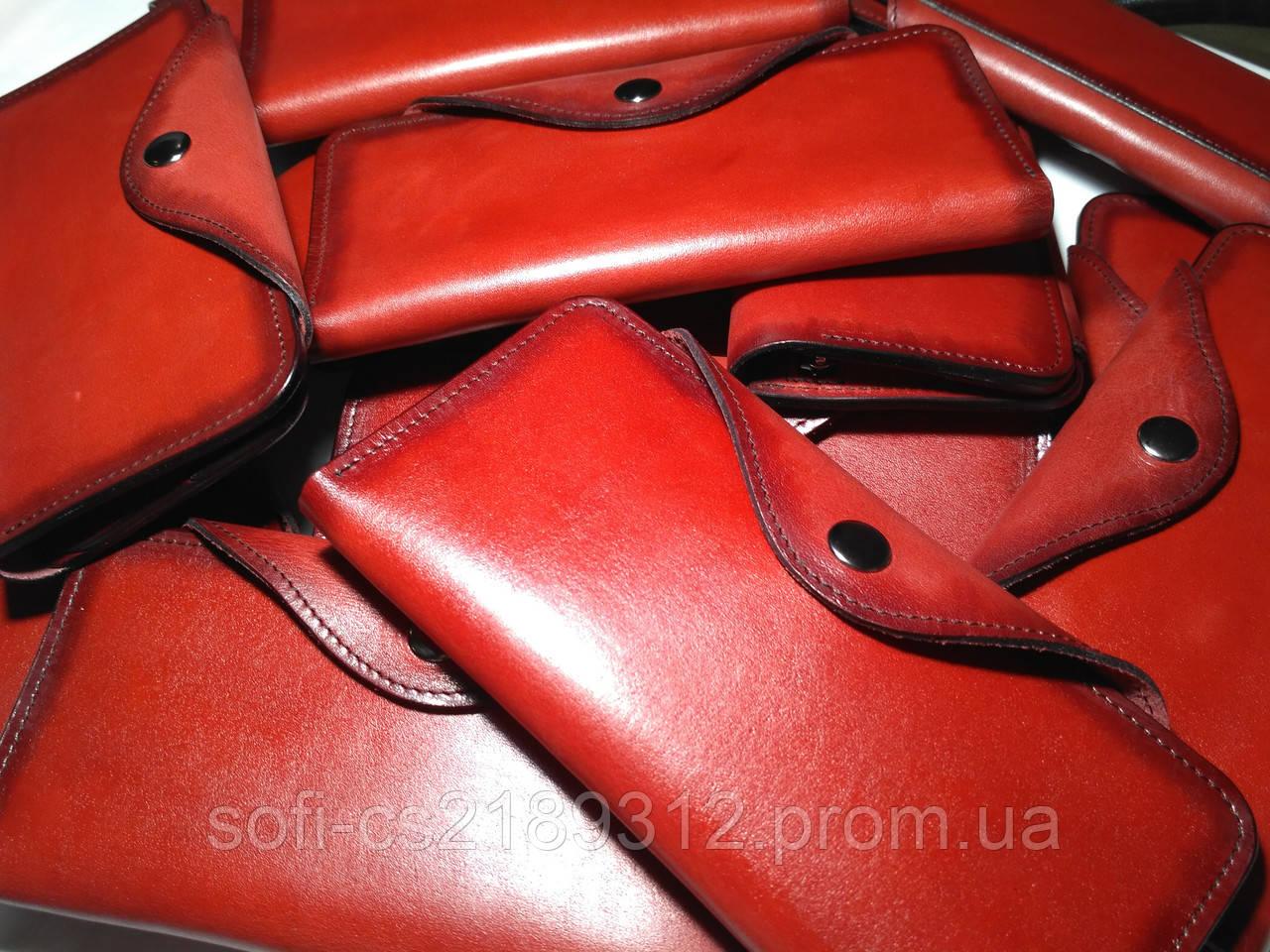 be4df15f6580 Красный кожаный кошелек, цена 800 грн., купить в Запорожье — Prom.ua ...