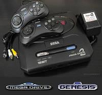 Игровая приставка,сега,sega,mega,drive 2 с встроенными играми