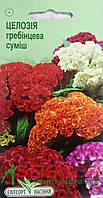 "Семена цветов Целозия гребенчатая смесь, однолетнее 0,2 г "" Елітсортнасіння"",  Украина"