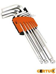 Набор длинных имбусных ключей