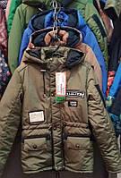 Качественная детская куртка-парка для мальчика