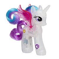 Май литл пони Принцесса Селестия серия Сияющие принцессы (со светом) Hasbro B8076/B5362