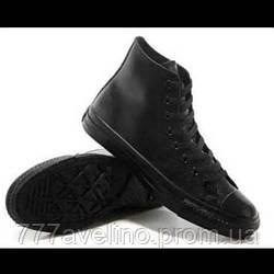 Кеды Converse черные высокие