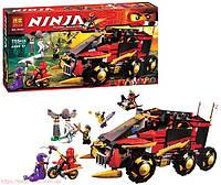 """Конструктор Bela """"Ninja"""" (10325) Мобильная база 755 деталей"""