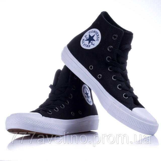 Кеды черные высокие Converse