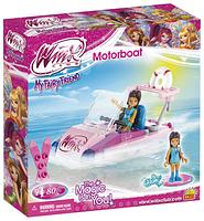 Конструктор COBI Winx, Моторная лодка, 80 деталей