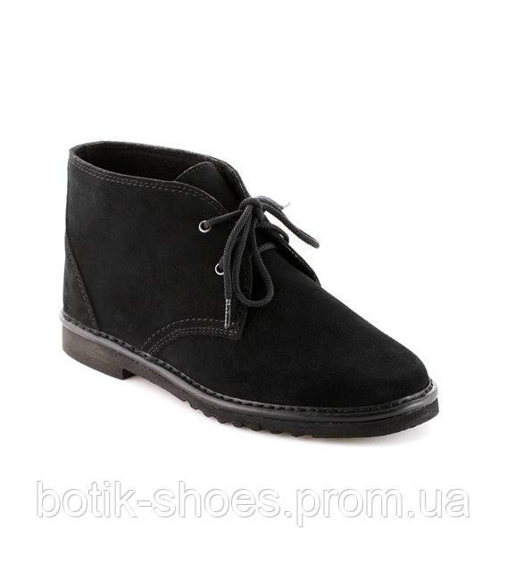 8eecb67e2 Купить женские замшевые черные ботинки Inblu 1101C1 недорого ...