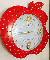 Часы настенные красные, фото 1