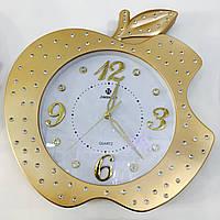 Часы настенные золотые