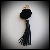 Женский брелок-кисточка на сумку или ключи