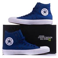 Кеды Converse Chuck Taylor All Star II высокие синие