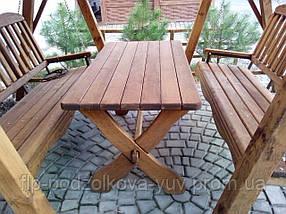 Стол из массива дерева, фото 3