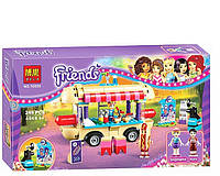 """Конструктор Bela 10559 """"Парк развлечений: фургон с хот-догами"""" (аналог LEGO Friends 41129) 249 дет."""