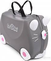 Детский чемоданчик на колесах Trunki Cat Benny