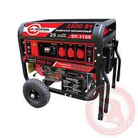 Генератор бензиновый (4-х тактный, электрический и ручной пуск)