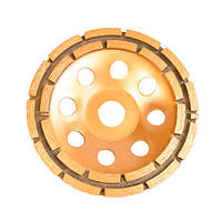 Фреза торцева шліфувальна InterTool 125х22,2 (алмазна крошка 20%-22%)