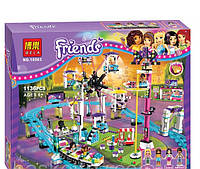 """Конструктор Bela 10563 """"Парк развлечений: Американские горки"""" (аналог LEGO Friends 41130), 1136 дет."""