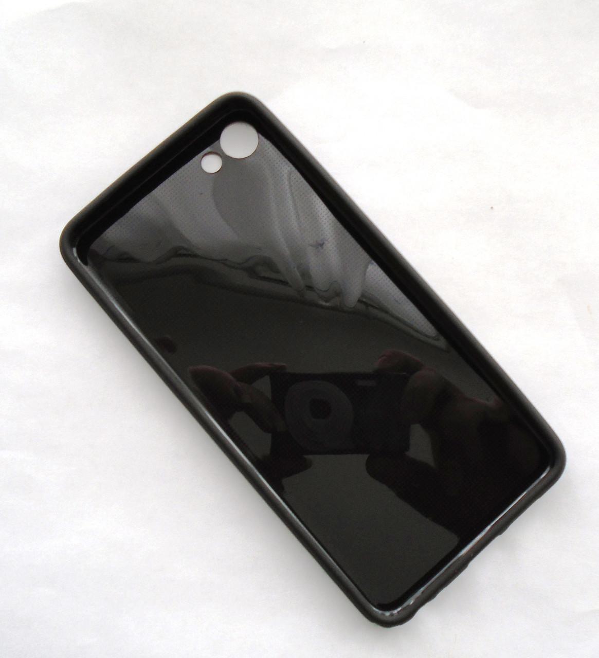 Чехол бампер силиконовый Meizu U10 черный