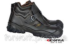 Ботинки защитные, водонепронищаемая кожа, анатомическая форма, стальной носок. brc-tago