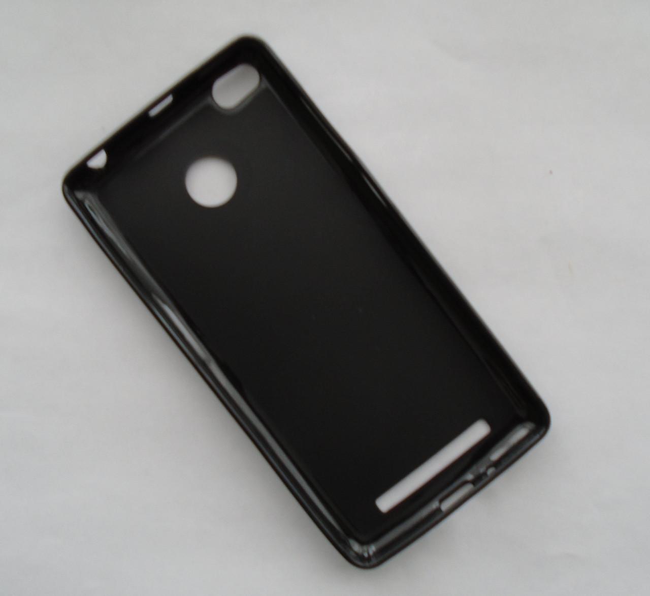 Чехол бампер силиконовый Xiaomi Redmi 3 черный s