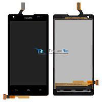 Модуль Дисплей Huawei G700-U10 Ascend с тачскрином, черный