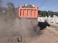 Доставка щебня песка грунта Киев. Отсев фракции 0-5. Бой кирпича, бетонный бой