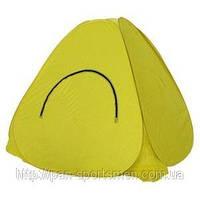 Палатка зима Renger 2.0х2.0 х1.3м желто бело голубая