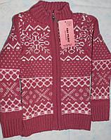 Вязанная кофта для девочки