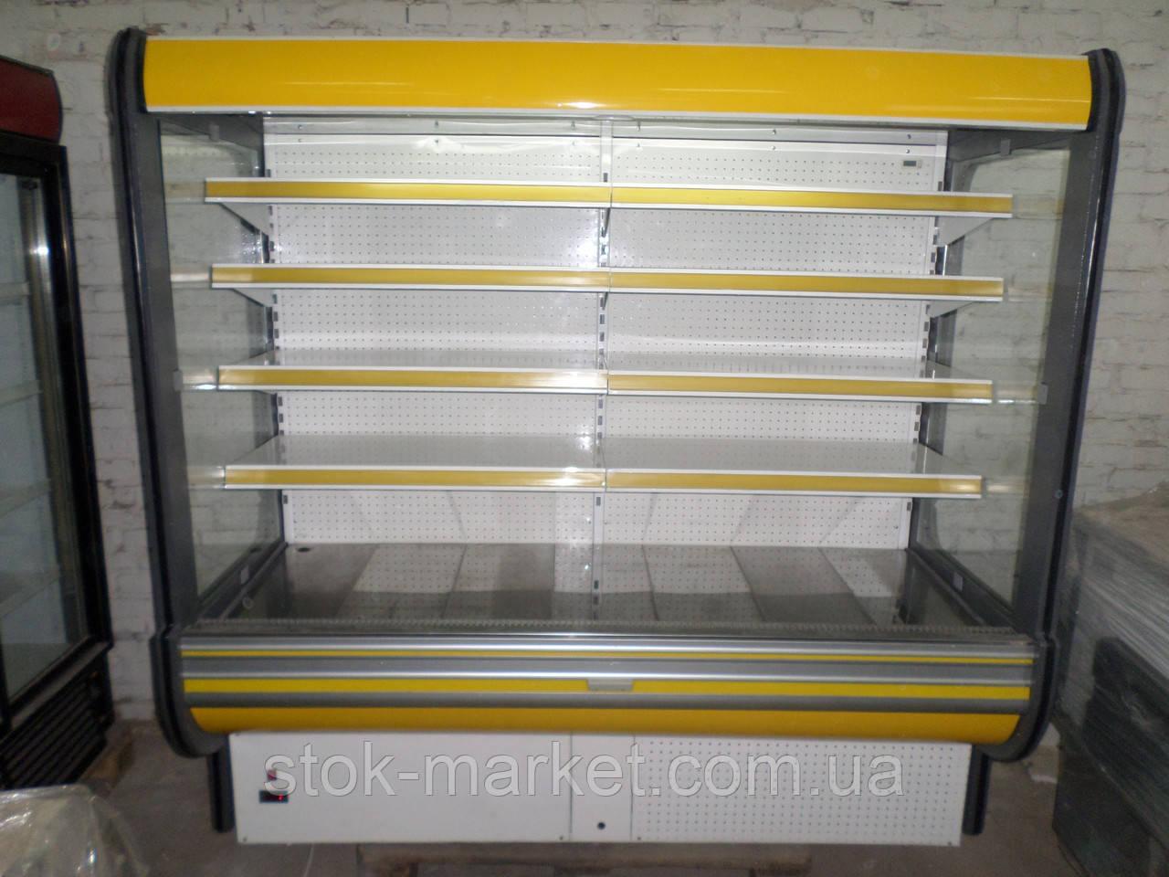 Холодильная горка GOLD-R20 бу,  Холодилый регал  б/у, горка холодильная б.у.