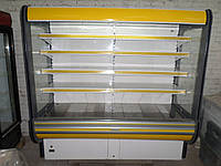 Холодильная горка GOLD-R20 бу,  Холодилый регал  б/у, горка холодильная б.у., фото 1