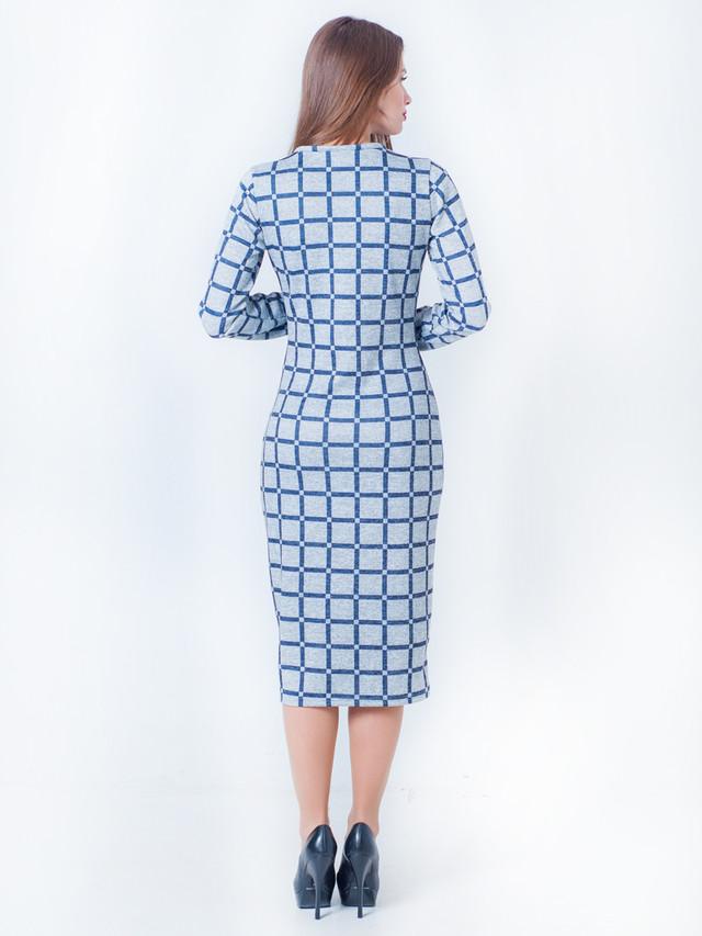 платье футляр в клетку, стильное молодежное платье, стильное платье для девушки, платье в обтяжку, модное платье 2017
