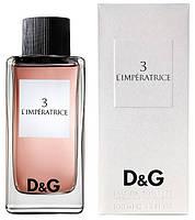 Парфюмированная вода Dolce&Gabbana 3 L'imperatrice , 100 мл